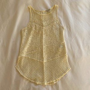 American Eagle Lacey Tank Top